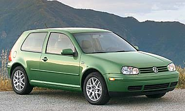 Green VW MKIV 1999.5 Golf